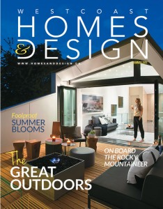 The Vanglo House is on the cover of the Westcoast Home & Design ...
