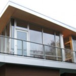 Wallace house, exterior, Vancouver, Canada, 2009.